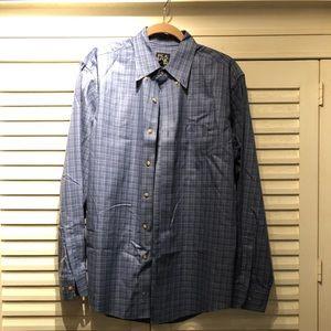JoS. A. Bank blue work shirt- medium